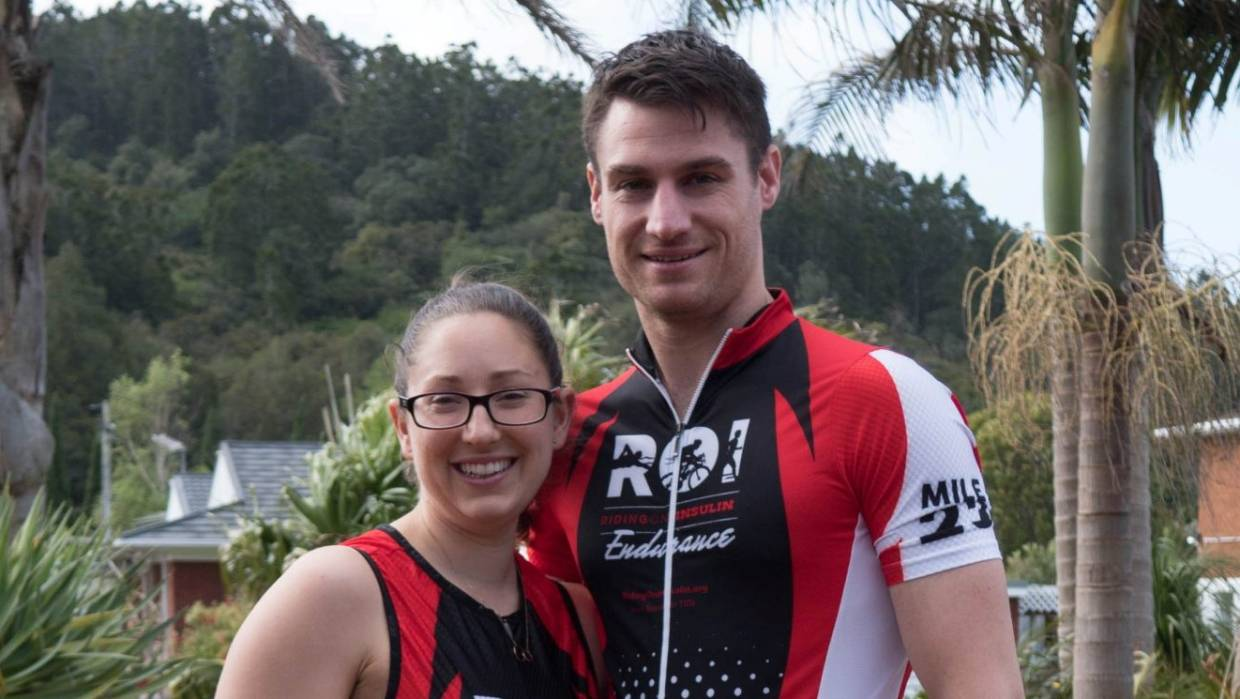 Type 1 diabetic Andrew Good will take part in the Ironman 70.3 challenge